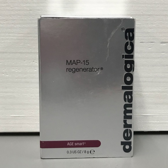 $85 Dermalogica Age Smart MAP-15 Regenerator NEW NWT on dermalogica daily resurfacer, dermalogica hydro-active mineral salts, dermalogica smart mouth lip shine, dermalogica clearing mattifier, dermalogica gentle cream exfoliant, dermalogica ultracalming serum concentrate,